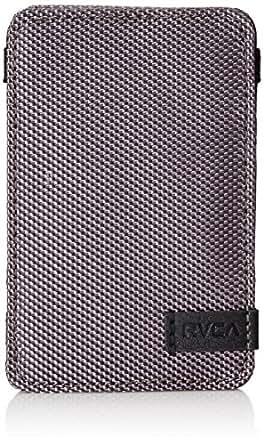RVCA Men's Ballistic Magic Wallet, Charcoal, One Size