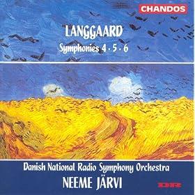Langgaard: Symphonies Nos. 4-6