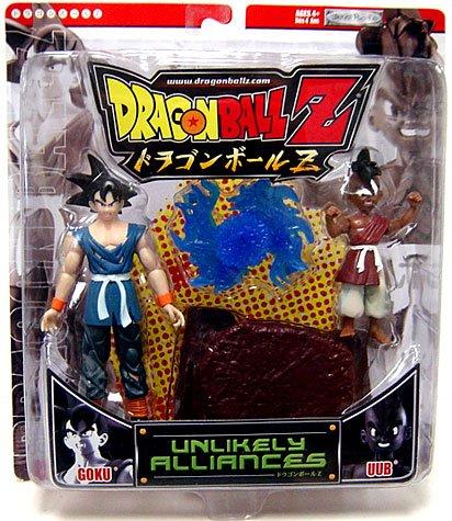 Buy Low Price Jakks Pacific Dragonball Z Unlikely Alliances Action Figure 2-Pack Goku & Uub (B000UQ3RYU)