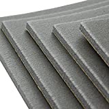 Noico WP 300 mil 9.5 sqft car waterproof insulation heat and cool liner, Closed Cell PE Foam CCF Self-adhesive Sound Deadening Material (1/3'' Thick Sound Deadener)