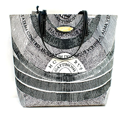 Gattinoni Borsa Donna Shopper Vertical Zip Cm 32x34x12 Grigio
