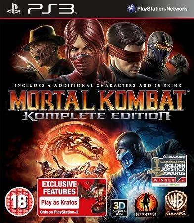 Mortal Kombat Komplete Edition - Import -