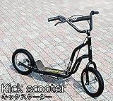 iimono117 FUNBEE  キックボード キックスクーター スケーター バイク ブレーキ付き ブラック