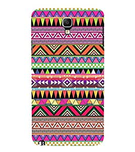 Abstract Color Pattern 3D Hard Polycarbonate Designer Back Case Cover for Samsung Galaxy Note 3 Neo N7505