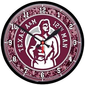 Texas A&M University Clocks - round