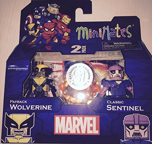 Marvel Minimates Exclusives Payback Wolverine & Classic Sentinel Minifigure 2-Pack