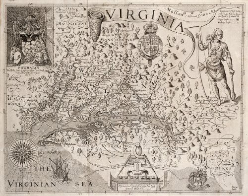 captain john smith history of virginia 1624 Letter by capt john smith to queen anne (1617) from the general historie of virginia by apt john smith, 1624 the fourth ooke, in lyon gardiner tyler, ed.