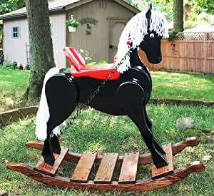 ROCKING HORSE Paper Plans SO EASY BEGINNERS LOOK LIKE ...