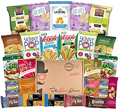 Non GMO and Natural Healthy Snacks Care Package (27 Count)