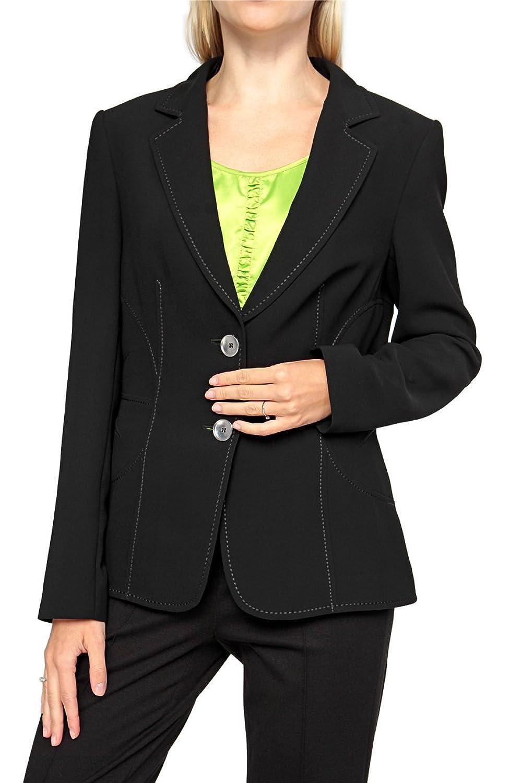 Basler Damen Blazer MODERN ART, Farbe: Schwarz günstig online kaufen