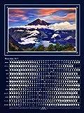 MoonShine Landscape – Lunar Phases Calendar 2015