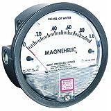 Dwyer Magnehelic Series 2000 Differential Pressure Gauge, Range 0-50