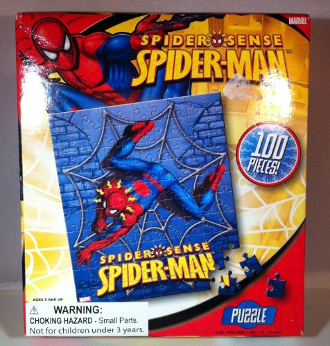 Spiderman - Spider Sense 100 Piece Puzzle