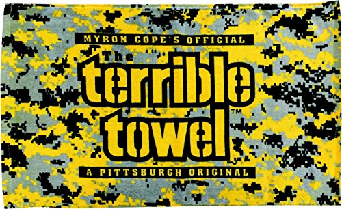 Pittsburgh Steelers Digital Camo Terrible Towel at SteelerMania