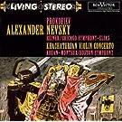 Prokofiev : Alexandre Nevski -  Khatchaturian : Concerto pour violon