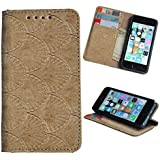 DING DONG PU Leather Flip Cover For Micromax Canvas HD A116