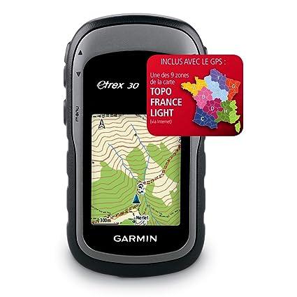 Garmin Etrex30 Montre GPS (Ecran LCD: 2,2 pouces) Noir