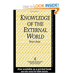 Amazon.com: Knowledge of the External World (Problems of ...
