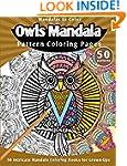Mandalas to Color: Owls Mandala Patte...