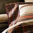 Ralph Lauren Rock River Standard Pillowcases Green Check