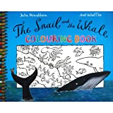 Donaldson Julia S Snail and the Whale Colouring Book