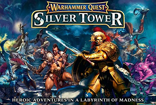 Warhammer Quest: Silver Tower (Warhammer Board Game compare prices)
