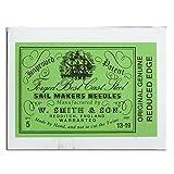 Wm. Smith & Son 5-pk of #13-19 Sailmakers' Needles