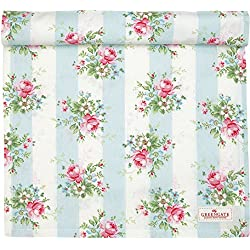 GreenGate Tischläufer - Table Runner - Marie Pale Blue 45 x 140 cm One Layer