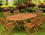 Table chair set wooden garden furniture set folding table wood dining table chair set