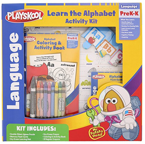Playskool Learn the Alphabet Activity Kit with Mr. Potato Head - 1