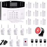 Ag-security™ High efficiency security system 99+8 zone Automatic alarm GSM SMS Home Burglar Security Wireless Gsm Alarm System Detector Sensor Kit Remote Control