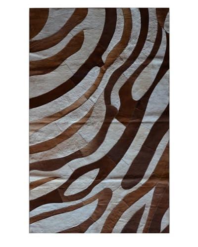 Natural Brand Stitch Hide Safari Rug