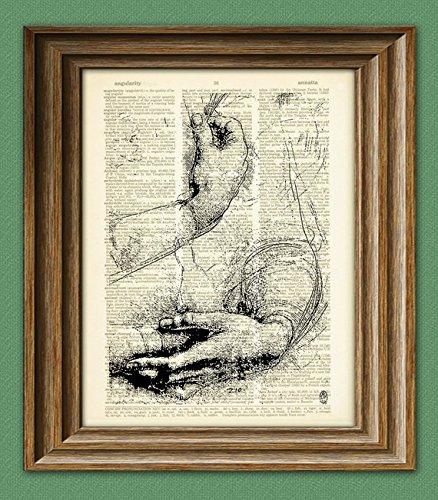 study-of-arms-and-hands-from-leonardo-da-vinci-sketch-on-vintage-dictionary-page-book-art-print-davi