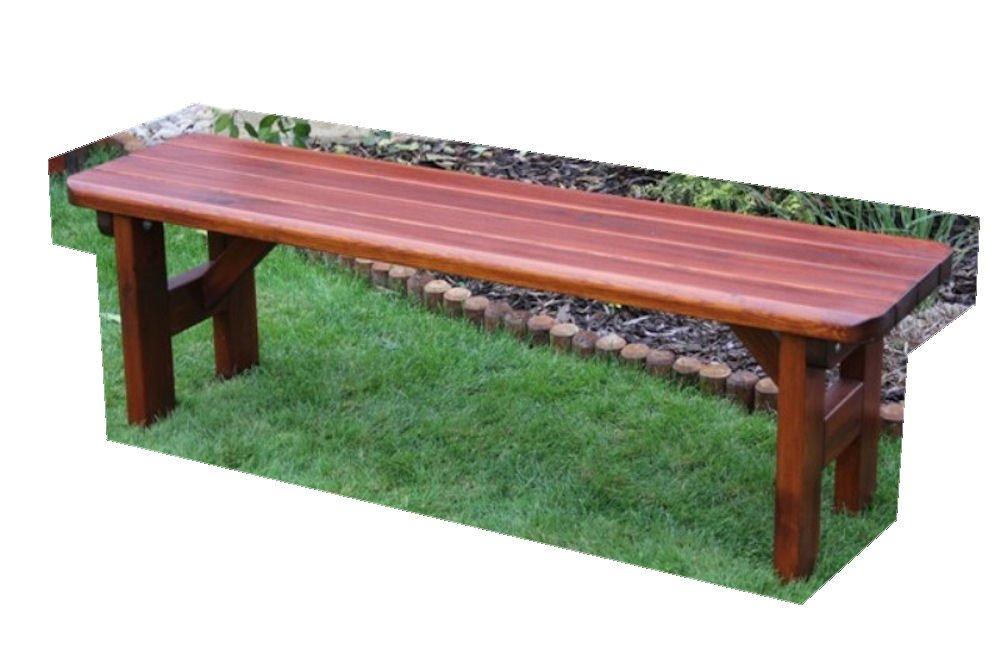 """Massivholz Gartenbank """"Rovna 2"""" , Kiefer , unbehandelt , B 150 cm , Holzstärke : 42 mm ! günstig kaufen"""