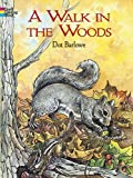 img - for A Walk in the Woods (Dover Nature Coloring Book) book / textbook / text book