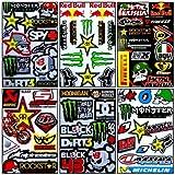 6 Rockstar Energy Drink Metal Mulisha Yamaha Kawasaki Motocross Racing Helmet Motorcycle Decal Sticker