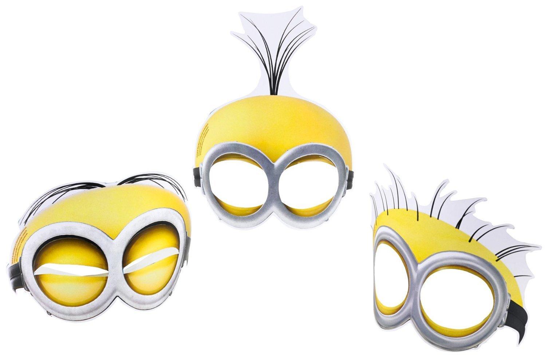 Minions Gesichtsmasken 6 Pro Packung kaufen