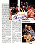 Roberto Duran Certified Authentic Autographed Signed Magazine Page Photo - PSA/DNA Certified - Autographed Boxing Magazines