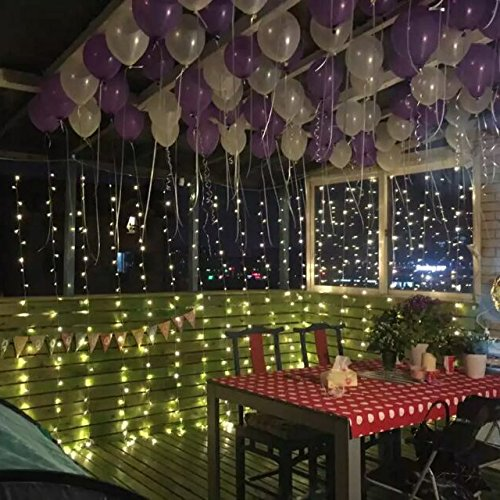 Long String Lights Indoor : Extra Long 40ft 125 LEDs Warm White LED Copper Wire Indoor Outdoor String Lights + Include 6V DC ...