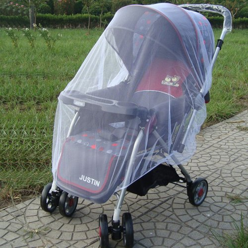 Mosquito and Bug Net for Stroller or Infant Carrier, X-Large - 1