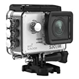 SJCAM SJ5000 WIFI Action Camera 14MP 1080p Ultra HD Waterproof Underwater Camera Large Screen Wide Angle Sports DV Camcorder for Diving Swimming Surfing Biking- Silver
