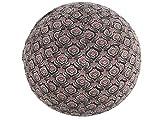 65cm exercise ball cover, yoga ball cover, balance ball cover, fitness ball cover, Stretch cotton - Black Bohemian