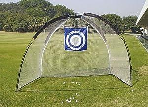 XL Deluxe Full Cage Practice Golf Net (10' x 7' x 5.5')