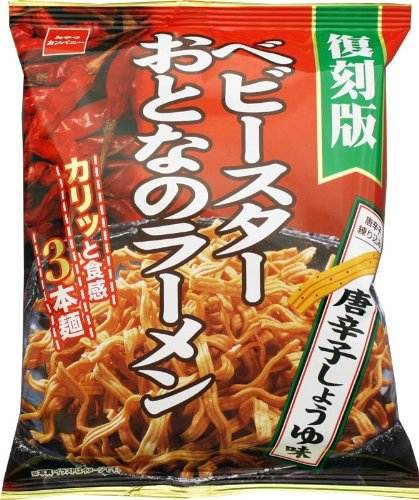 Oyatsukanpani baby star adult ramen pepper soy sauce 61g ~ 12 bags (Baby Soy Sauce compare prices)