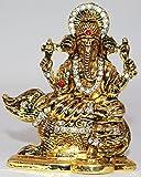 Odishabazaar Hindu God Ganesha Statue Religious Art Sculpture for Gift (3x2.5x1) Inch