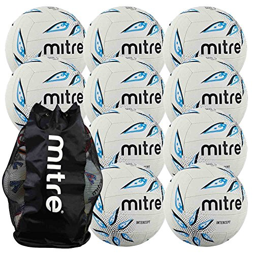 mitre-intercept-netball-package-10-size-4-netballs-with-free-ball-sack