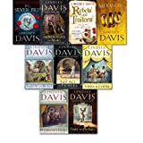 Lindsey Davis Marcus Didius Falco collection 9 books set. (The silver pigs, shadows in bronze, Venus in Copper, the Iron Hand of Mars, Poseidon's gold, last act in Palmyra, Time to Depart, Alexandria, Rebels and Traitors)