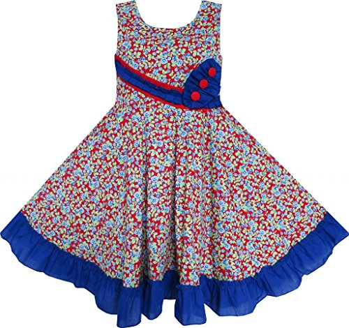 Smocked Childrens Dresses front-149019