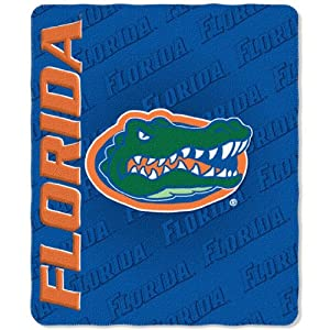 Buy Florida Gators fleece blanket throw by College Fleece Fabric