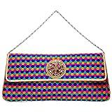 Flamboyance Women's Hexagon Clutch (Multicolor, fb_bbbag_a14)